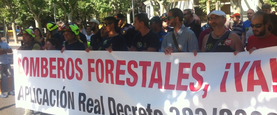 Bomberos forestales