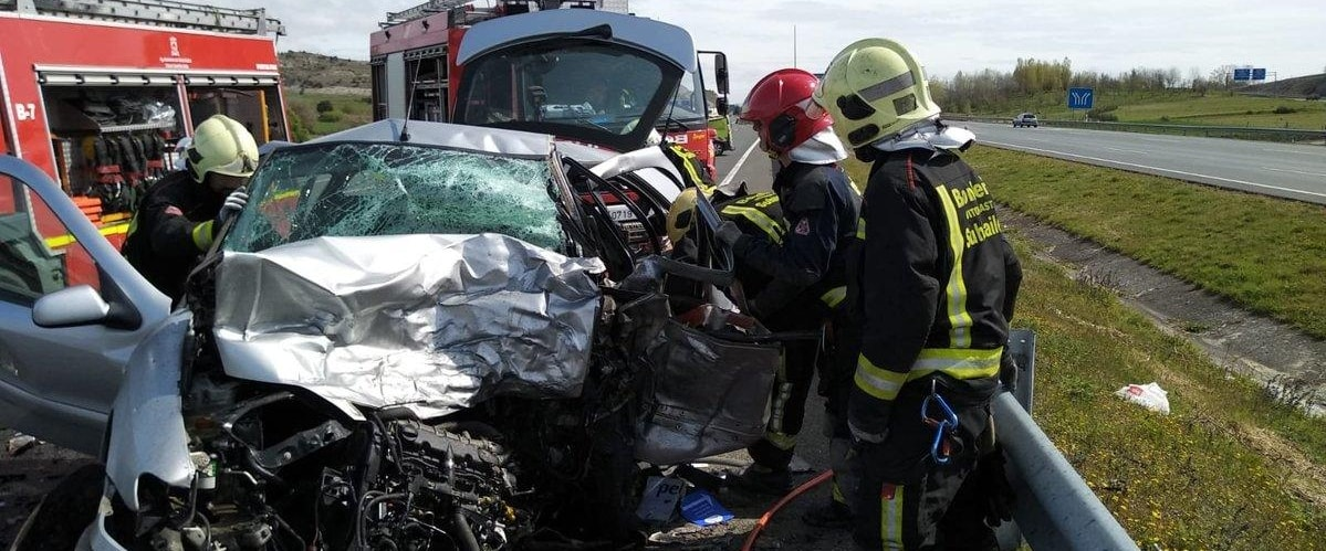 Accidente Vitoria A1