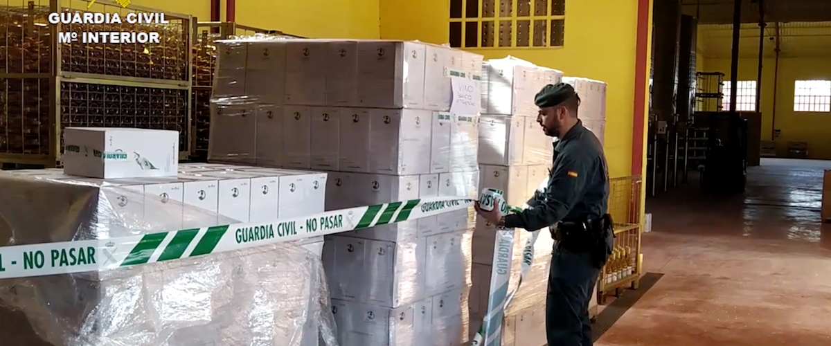 Guardia Civil, fraude alimentario, comercio